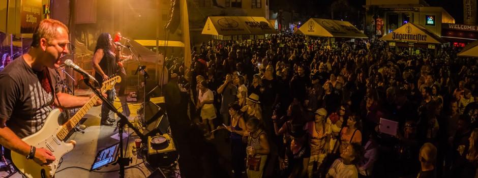 Amp'd at the Full Moon Saloon at Biketoberfest Saturday, Oct. 18, 2014.