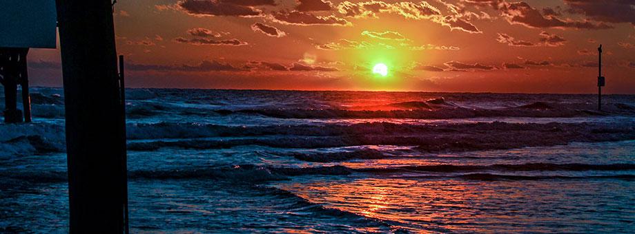 Watching the hybrid eclipse on Daytona Beach Sunday, Nov. 3, 2013.