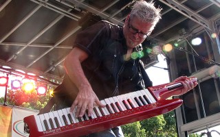 The Little River Band at the Downtown Food & Wine Festival on Lake Eola in Orlando, 2012.