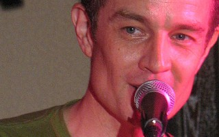 James Marsters in concert, Orlando, 2009.