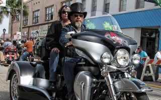 Bike Week on Main Street in Daytona Beach Saturday, March 9, 2013.