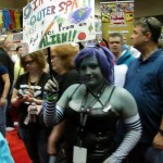 Scenes from MegaCon in Orlando Saturday, March 16, 2013.