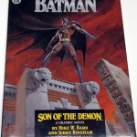 """Son of the Demon"" was DC's first hardcover graphic novel, and also featured the introduction of Batman's son Damien. This is a 1st ed. and comes with an extremely rare lithograph of the cover, only 500 released.;"