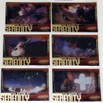 "Firefly ""The Battle of Serenity"" card set."